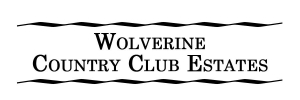 Logo for Wolverine Country Club Estates